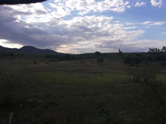 Hügel im Hintergrund