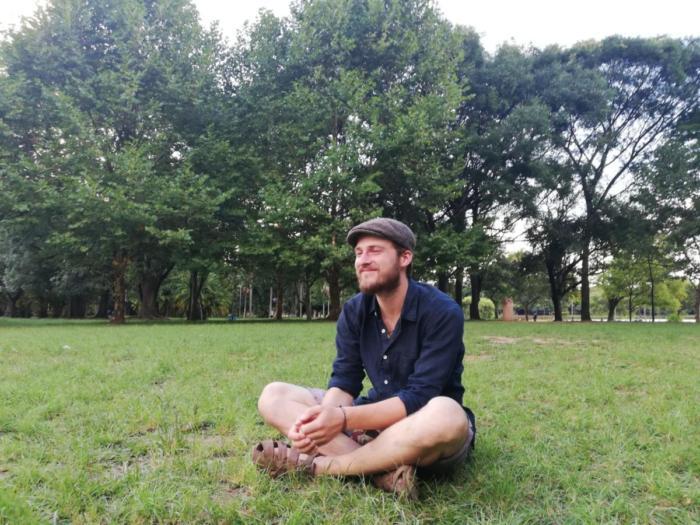 David im Park