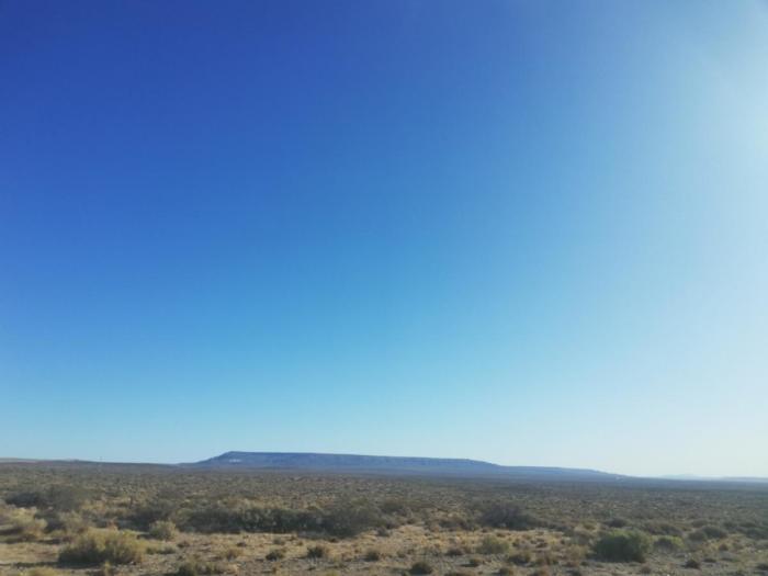 Berge am Horizont