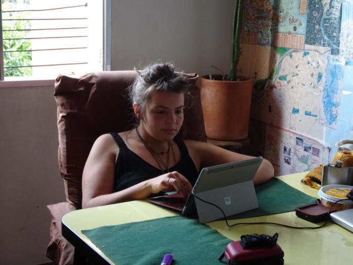 Klara schreibt Blog