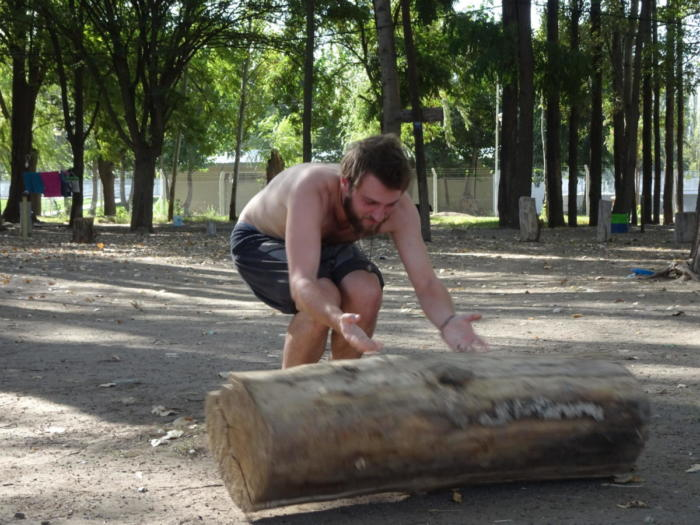 Rollendes Holz
