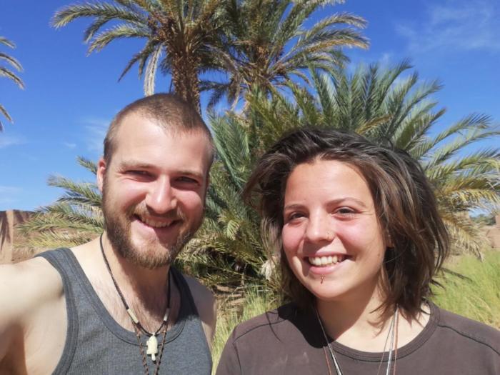 Wir mit Wüste