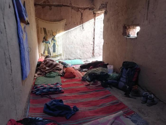 Schlafzimmer in der Kasbah
