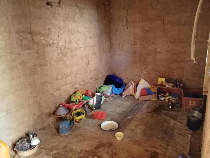 Küche in der Kasbah