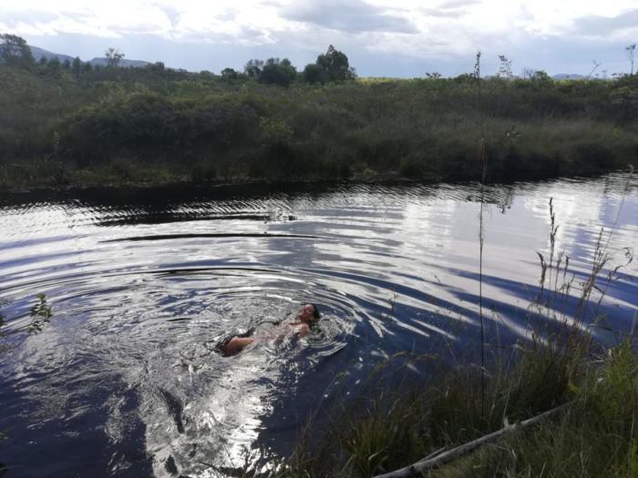 Klara im Fluss