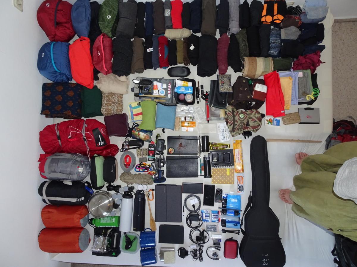 Nur Gepäck