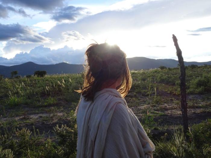 Berge mit Klara